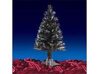3ft fiber optic Christmas tree