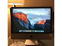Apple iMac 24 inch OSX El Capitan with Bluetooth Keyboard, Magic Trackpad