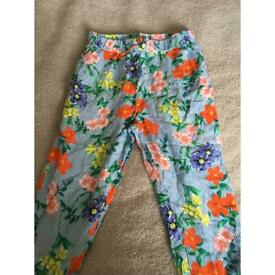 Girls summer trousers