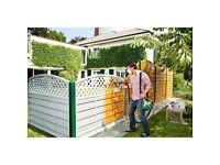 Fence painting for only £2.30 square meter!