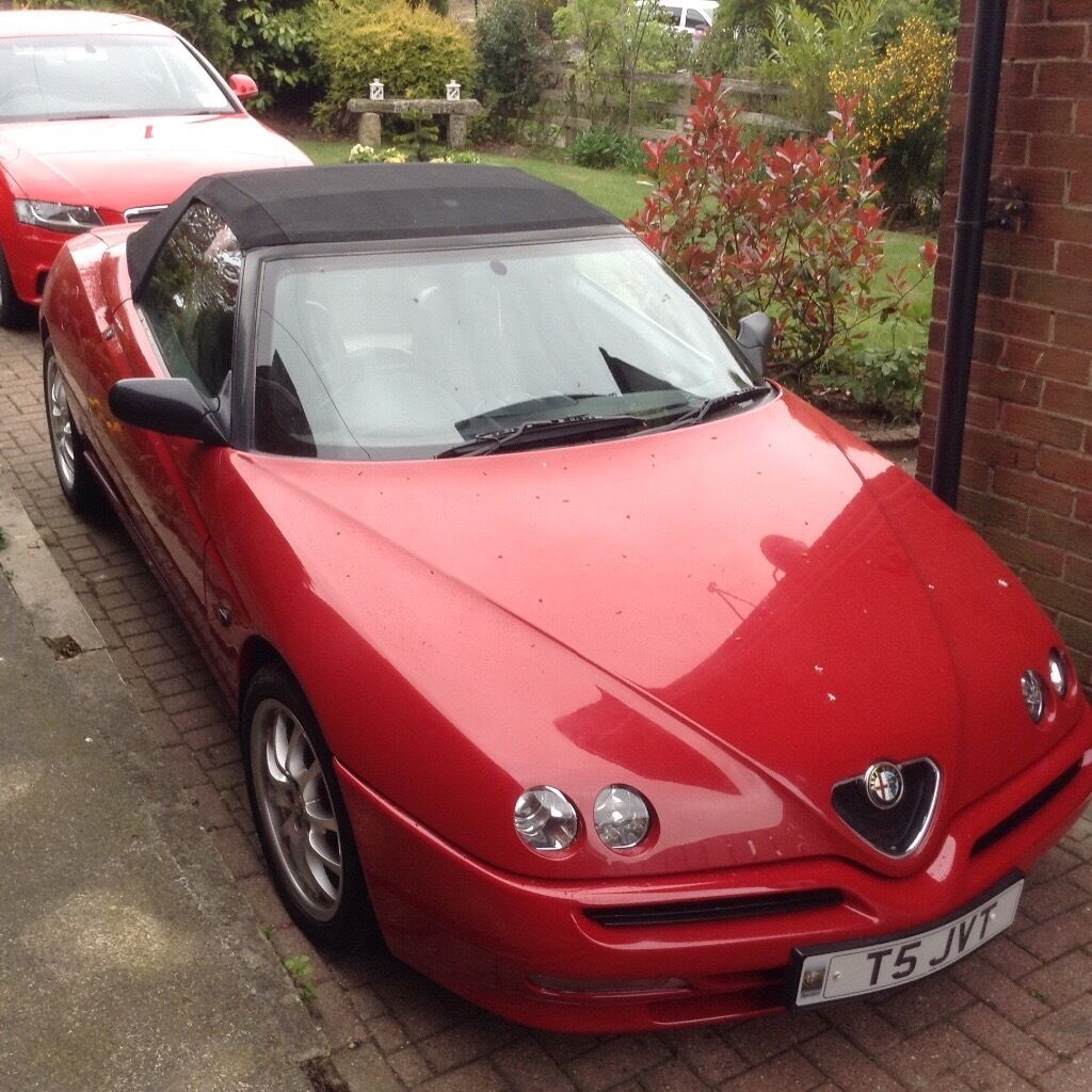 alfa romeo spider cabriolet convertible in consett county durham gumtree. Black Bedroom Furniture Sets. Home Design Ideas
