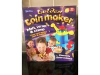 Golden coin maker brand new