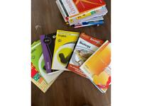 Wide selection of SQA study books and resources for the Scottish curriculum feel free to msg