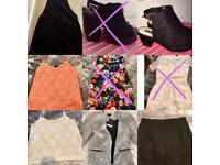 Topshop, new look clothes and miss Selfridge heels size 5