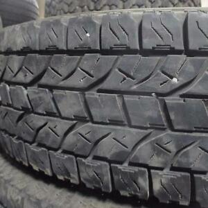 YOKOHAMA GEOLANDAR AT/S LT 235/80R17 10 PLY TIRES 85% TREAD 235/80/17