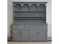 Large Hand Made Solid Pine Dresser Painted in Rustoleum Chalk Paint