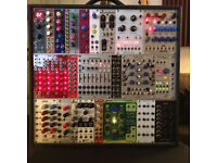 Eurorack Modular Synth Modules & Case for sale