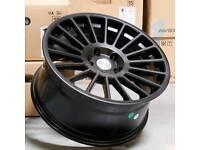 "Brand new 18"" Avid.1 av54 - rotiform style alloy wheels 5x100"