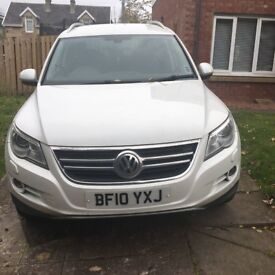 Vw tiguan low milage automatic
