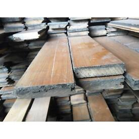 Reclaimed Victorian Architrave & Maple floor