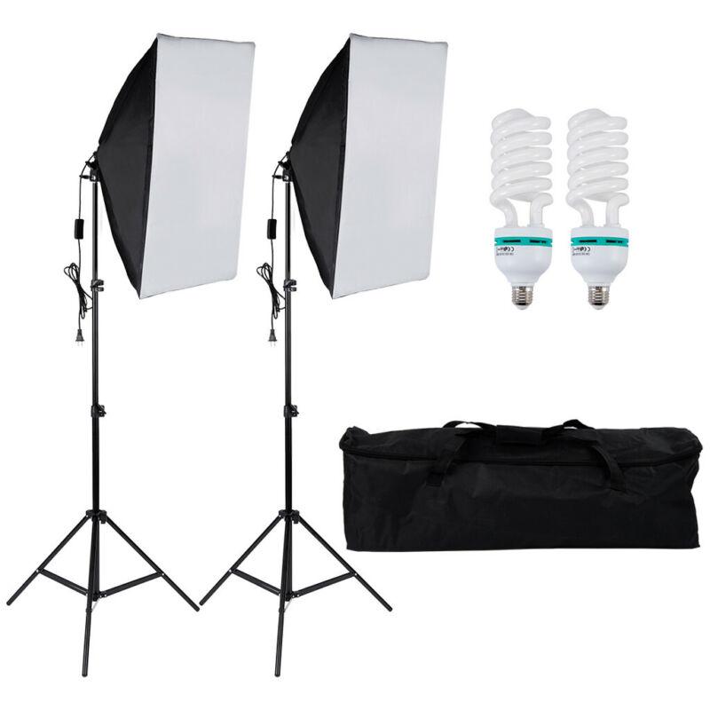 photography light set soft light box led