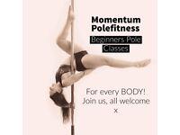Pole Fitness Beginners Dance Classes