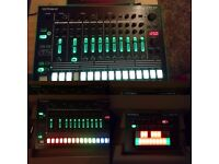 Roland TB3 and Roland TR8 for sale in mint condition