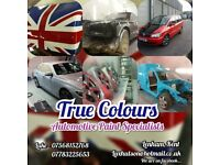 Small workshop specialising in paintwork and body repair