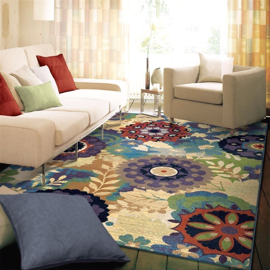 RUGS AREA RUGS 8x10 AREA RUG CARPET MODERN RUGS QUALITY LARGE RUGS FLORAL  RUGS ~