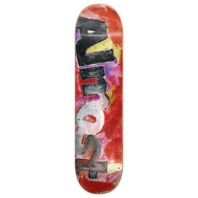 b105b28d8b9 Almost Skateboard Deck Color Bleed Red 8.25