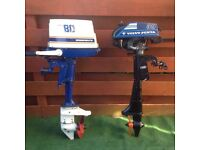 2x Outboard engines for sale