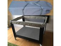 Travel Cot, Travel Stairgate, Timberland messenger bag