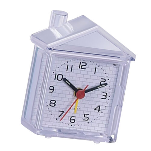 Mini Alarm Clock Desktop Table Bedside Clock for Home Kids Bedroom Office 02