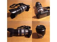 Sony nex 6 with 18-200 super zoom lens