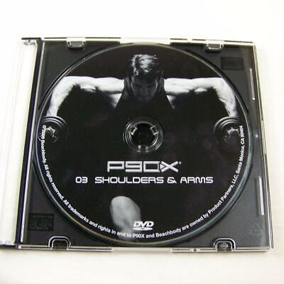 NEW P90X Replacement DVD Disc 03 Shoulders & Arms Tony Horton Beachbody Fitness for sale  Shipping to Canada
