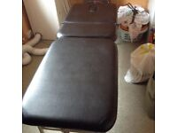 Portable massage table - ideal for sports injuries
