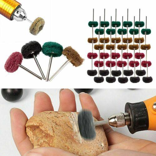 25mm abrasive wheel buffing polishing pad kit