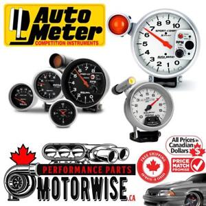 Autometer Gauges | Shop & Order Online at www.motorwise.ca | Free Fast Shipping Canada Wide