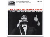 cliff richard show live at abc kingston 1962 cd limited edition as new