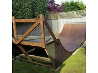 Mini Skateboard Ramp