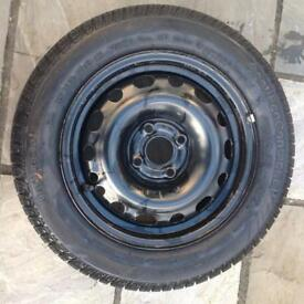 Corsa wheel and tyre 175 65 14