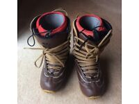 Size 8 Mens/Womens 32 TM One Boots.