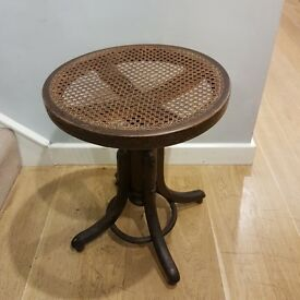 REDUCED FROM 50 TO 25 Antique Wooden Piano Stool