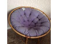 Pier cane chair