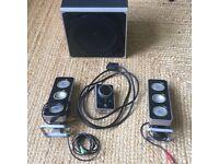 Logitech Z-4 Computer Speakers
