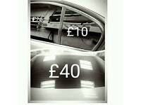 Window Tinting from £80 Car Wrapping from£600