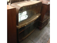 retro drinks cabinet in need of restoration