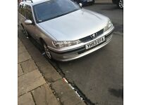 Peugeot 406 diesel estate cheap £295ono