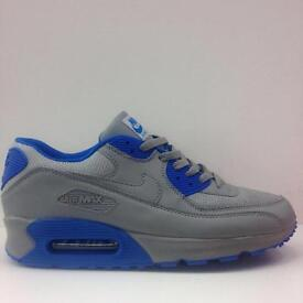 Nike air max 90 All Grey with blue All Sizes Available