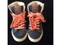 Superdry trainers/boots UK 4 For Sale