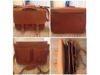 Genuine real leather Grafea satchel