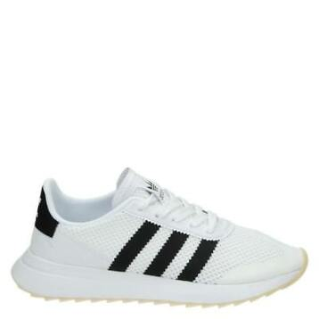 Adidas Flashback lage sneakers wit