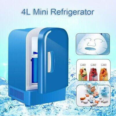 4L Portable Mini Home Car Freezer Cooler Warmer Electric Fridge Travel Box UK