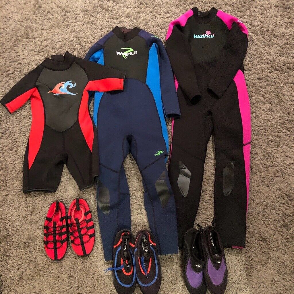 9fb829a0e94c Kids Wetsuit Trio (includes shoes) | in East Linton, East Lothian ...