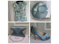 Designer dress and full accessories