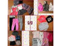 Girls 8/9 years clothes bundle