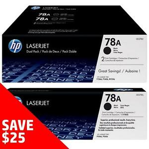 Original HP 78A Toner - Buy 2 Direct from HP Save $25 Off