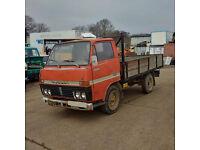 Left hand drive Toyota Dyna 200 / BU20 3.0 diesel single wheel 3.5 Ton truck.