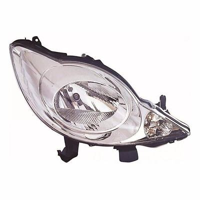 Replacement 550-1151R-RD-EM Right Driver Side OS Headlamp Halogen Peugeot 107
