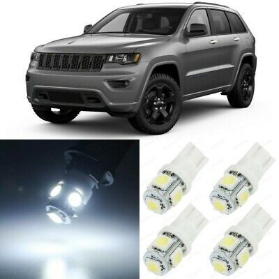 17 x White Interior LED Lights Package For 2011  2019 Jeep Grand Cherokee  TOOL